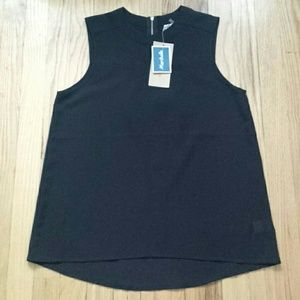 Sheer tank top new with tags size S